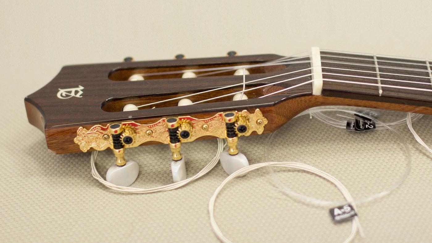 Cambio de cuerdas a guitarra de nylon