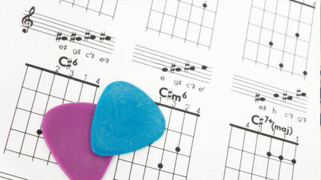 cómo leer tabs de guitarra, o tablaturas