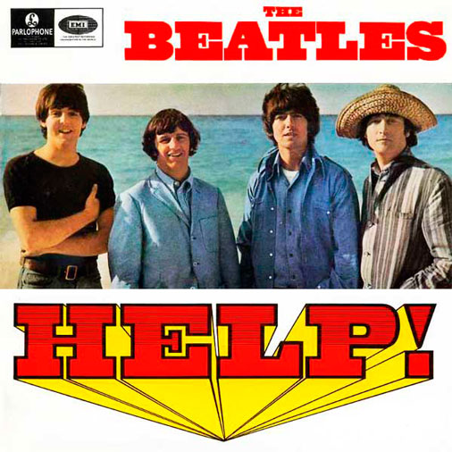 beatles help acordes guitarra