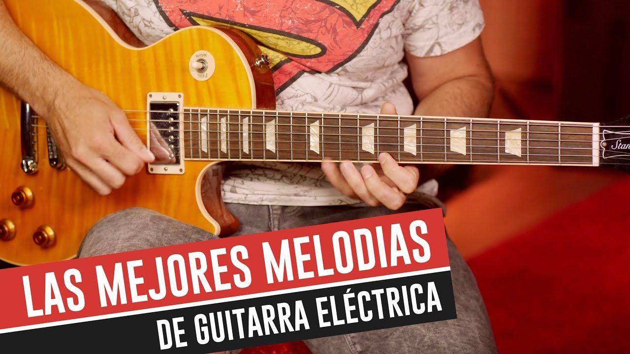 Las mejores melodías para guitarra eléctrica de la historia