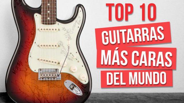 las 10 guitarras más caras de la historia
