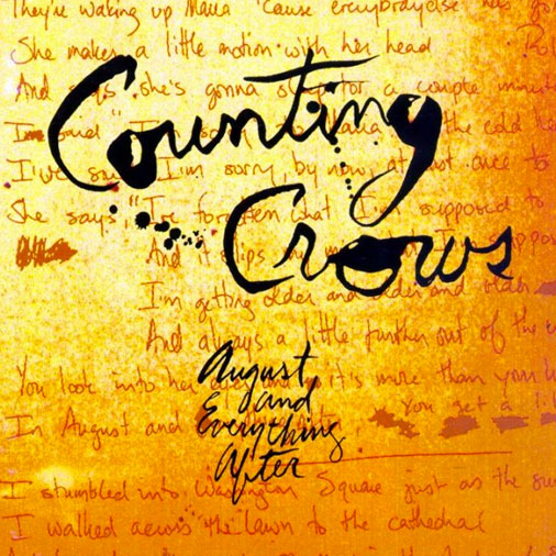 Cómo tocar Mr. Jones (acordes para guitarra), de Counting Crows