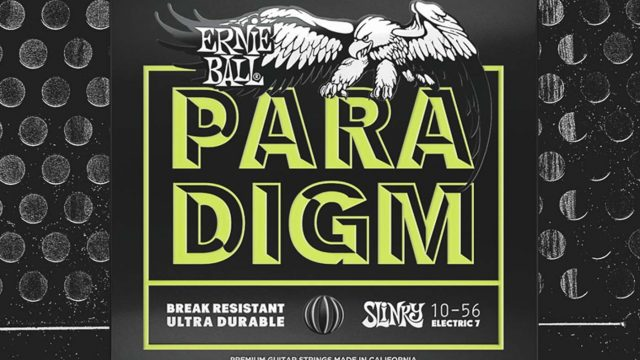 Review Ernie Ball Paradigm - Set de cuerdas de guitarra