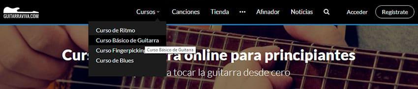 Cómo aprender a tocar la guitarra online con Guitarraviva