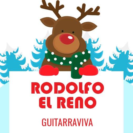 Villancico - Cómo tocar Rodolfo El Reno - Acordes para guitarra